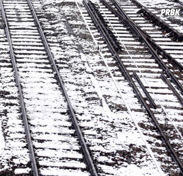 Les Français bloqués par la neige font bien rire ce Québécois