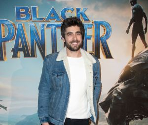 Black Panther :Agustin Galiana à l'avant-première au Grand Rex de Paris