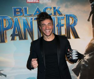 Black Panther : Darko à l'avant-première au Grand Rex de Paris