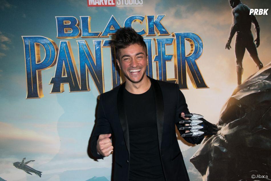 Black Panther : Darko à l'avant-première au Grand Rex de Paris