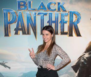 Black Panther : Denitsa Ikonomova à l'avant-première au Grand Rex de Paris