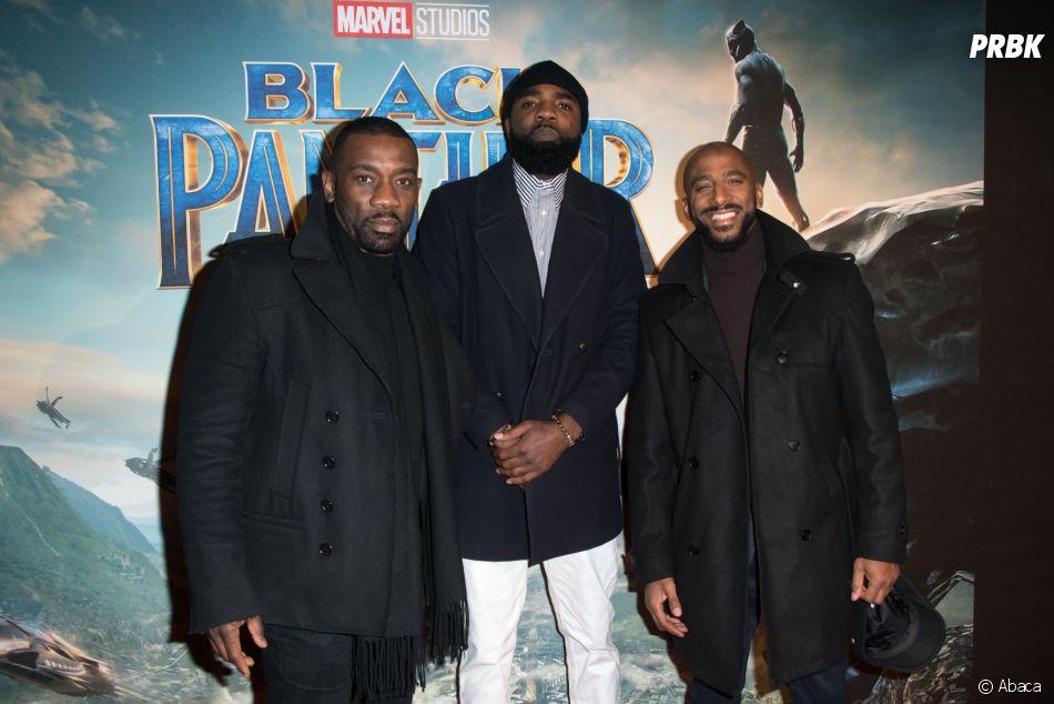 Black Panther : Passi, Ben J, Stomy Bugsy à l'avant-première au Grand Rex de Paris