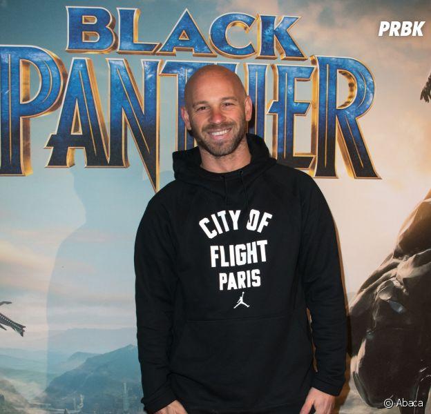 Black Panther : Franck Gastambide à l'avant-première au Grand Rex de Paris