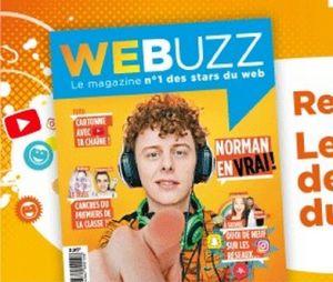 Webuzz : découvrez le premier magazine dédié aux YouTubeurs (Norman, Natoo...)
