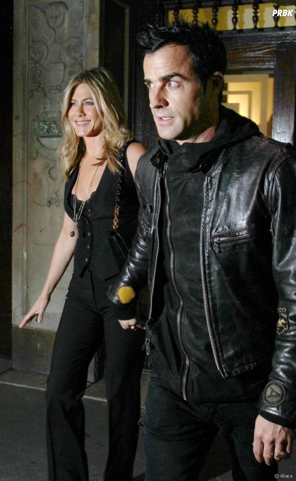 Justin Theroux et Jennifer Aniston, c'est la fin