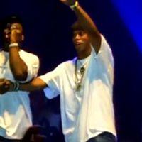 50 Cent et Ronaldinho ... Ensemble sur scène au Brésil ... La vidéo