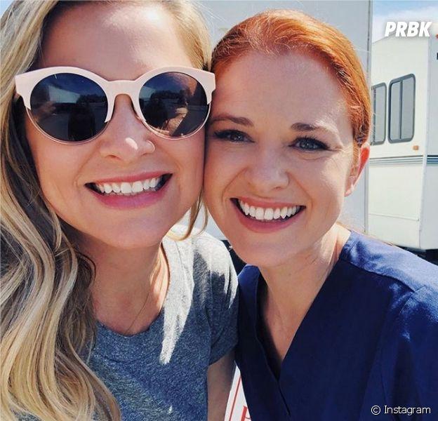 Grey's Anatomy saison 14 : Sarah Drew et Jessica Capshaw émues par les fans