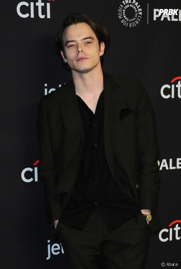 Charlie Heaton au panel de Stranger Things au PaleyFest le 24 mars 2018 à Los Angeles