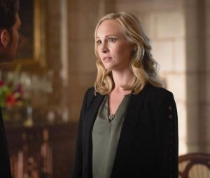 The Originals saison 5 : Caroline (Candice Accola) face à Klaus dans l'épisode 1