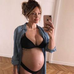 Caroline Receveur enceinte : sa confidence craquante sur son poids de grossesse