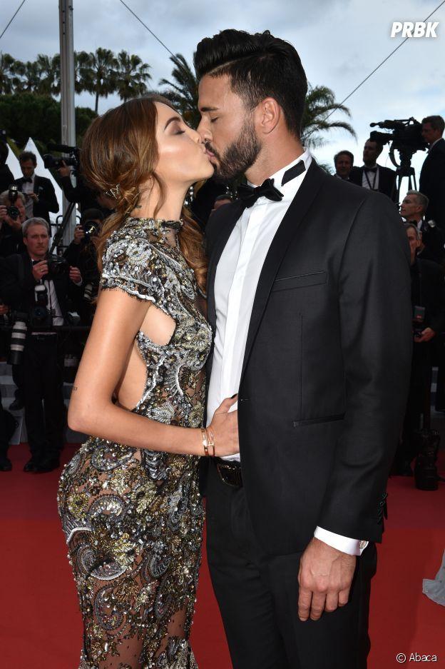 Nabilla Benattia et Thomas Vergara in love au Festival de Cannes 2018 le 15 mai