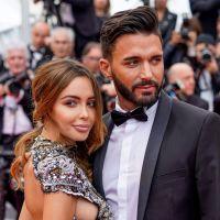 Nabilla Benattia en robe transparente et dénudée avec Thomas Vergara à Cannes 2018
