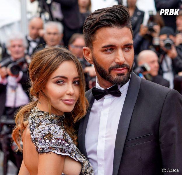Nabilla Benattia et Thomas Vergara au Festival de Cannes 2018 le 15 mai
