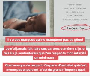 Caroline Receveur : une marque prédit la naissance de son bébé... pour une pub mensongère