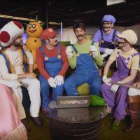 McFly, Carlito, Cyprien, Squeezie, Natoo et Cyril s'affrontent lors d'un Mario Carte Bleue IRL