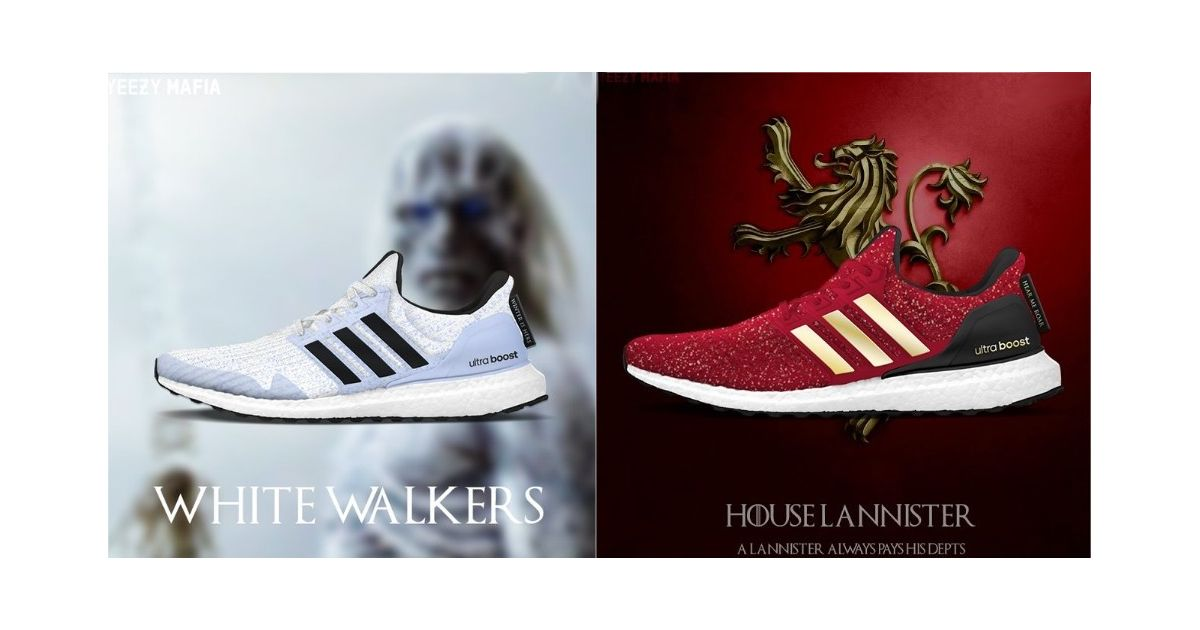 Game of Thrones collabore avec adidas pour des Baskets incroyables