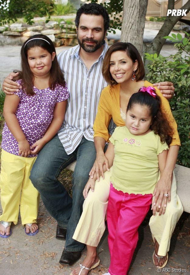 Desperate Housewives : Eva Longoria et Ricardo Chavira posent avec Madison de la Garza et Daniella Baltodano