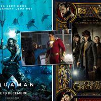 Aquaman, Les Animaux Fantastiques 2, Shazam... les bandes-annonces dévoilées au Comic-Con 2018