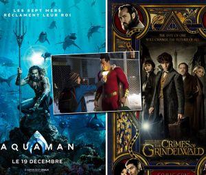 Aquaman, Les Animaux Fantastiques 2, Shazam... les bandes-annonces dévoilées au Comic-Con