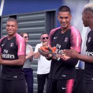 Kylian Mbappé, Presnel Kimpembe... : les champions du monde de retour en héros au PSG ⚽