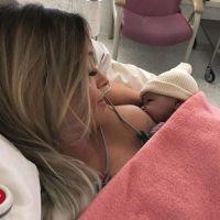 Alexia Mori (Secret Story 7) a accouché de son 2ème enfant : la maman dévoile son bébé en photos