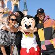 Neymar et Bruna Marquezine à Disneyland Paris pour les 90 ans de Mickey