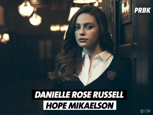 Legacies saison 1 : Danielle Rose Russell joue Hope Mikaelson