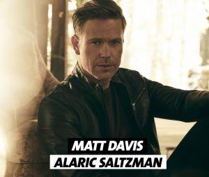 Legacies saison 1 : Matt Davis joue Alaric Saltzman