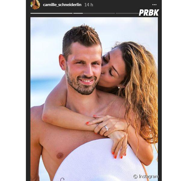 Camille Sold (Koh Lanta) et Morgan Schneiderlin parents : ils dévoilent une photo de leur bébé
