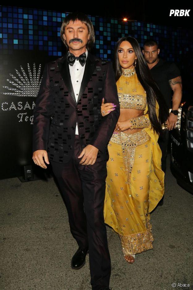 Kim Kardashian déguisée en Cher