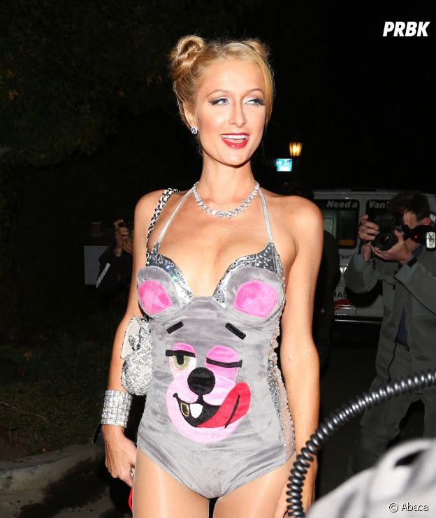 Paris Hilton déguisée en Miley Cyrus