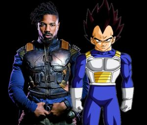 Black Panther : Killmonger inspiré... de Vegeta (Dragon Ball Z) ?