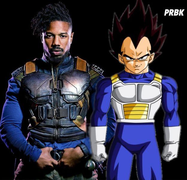 Black Panther : Killmonger inspiré... de Vegeta (Dragon Ball Z) ?