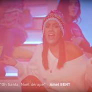 """Amel Bent parodie """"Djadja"""" et """"Ramenez la coupe à la maison""""... version Noël !"""