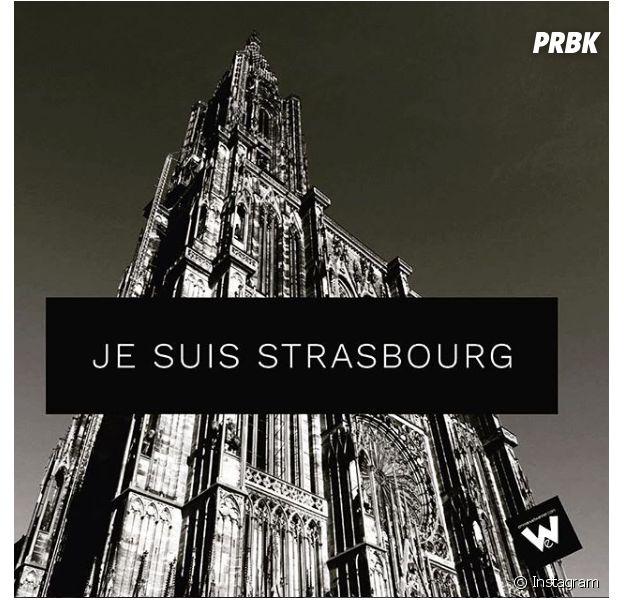 Fusillade de Strasbourg : M. Pokora, Christophe Beaugrand... Les stars rendent hommage aux victimes