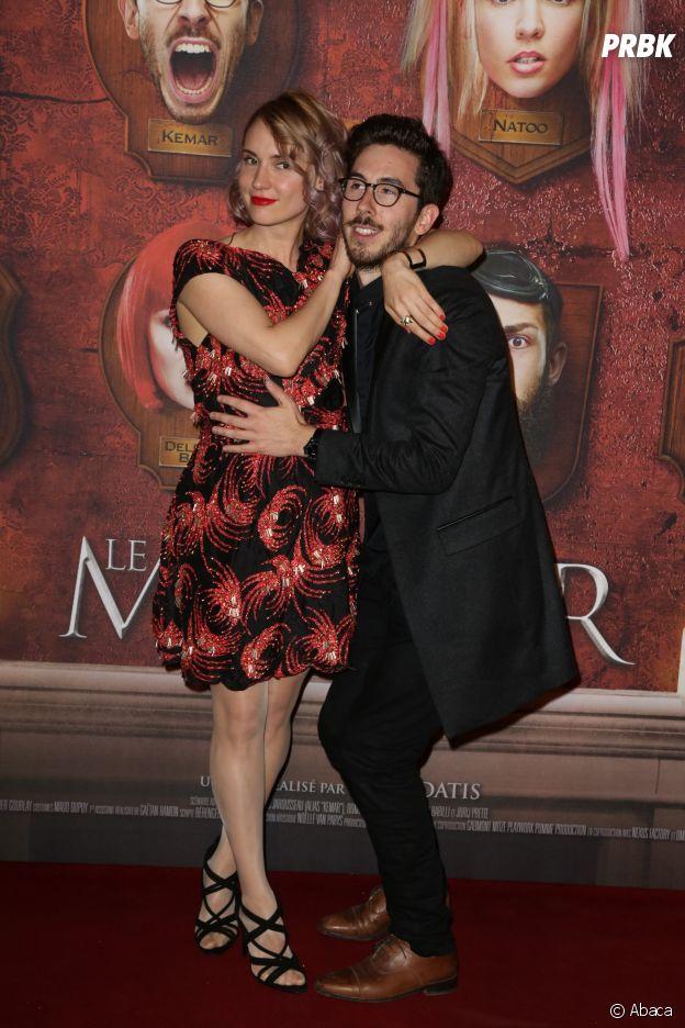 Kemar et Natoo à l'avant-première du film Le Manoir le 9 juin 2017 au Grand Rex à Paris
