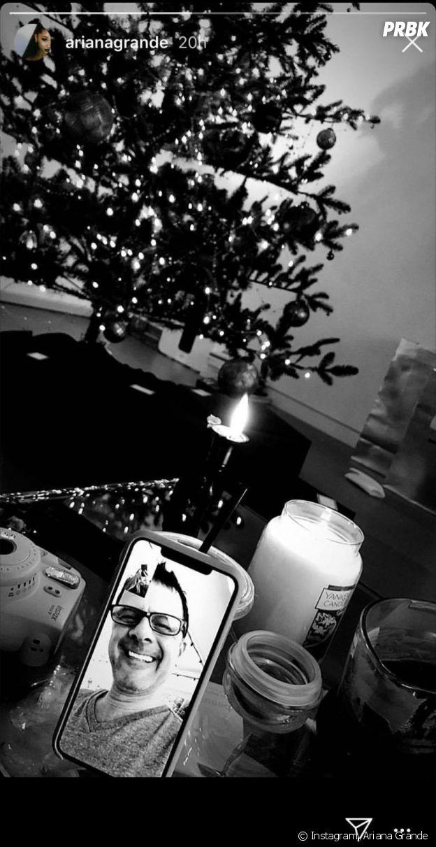 Ariana Grande renoue avec son père Edward Butera pour les fêtes de Noël 2018