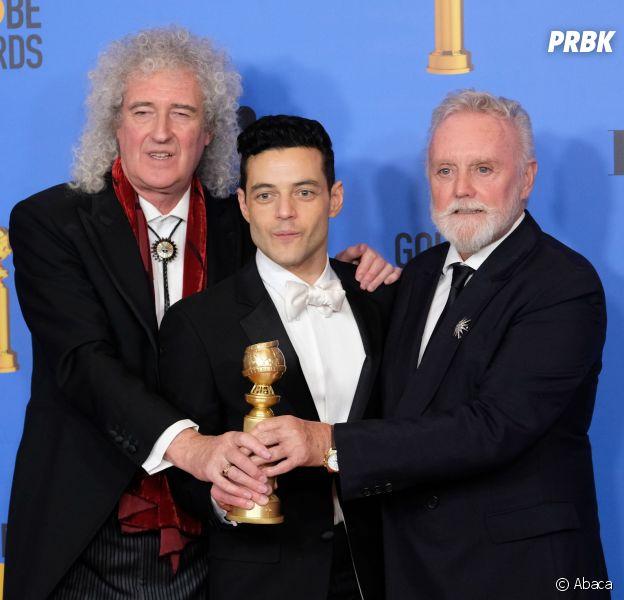 Rami Malek récompensé pour Bohemian Rhapsody aux Golden Globes le 6 janvier 2019