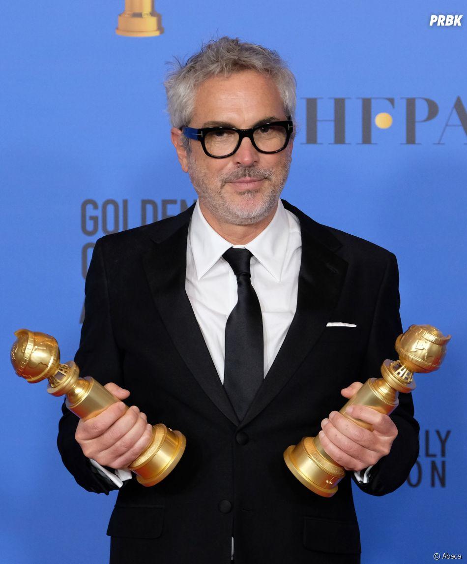 Alfonso Cuaron gagnant aux Golden Globes le 6 janvier 2019