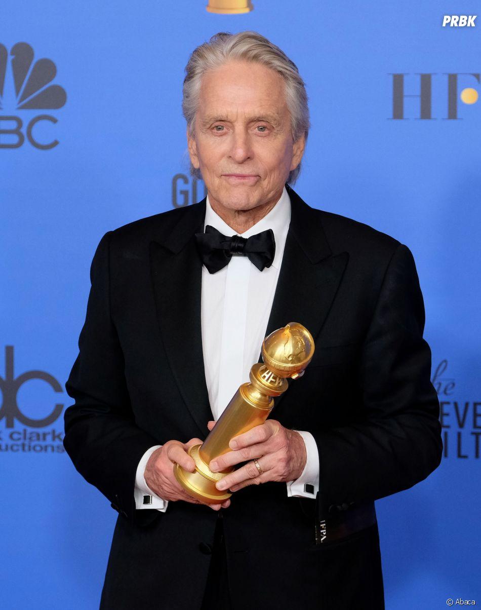 Michael Douglas gagnant aux Golden Globes le 6 janvier 2019
