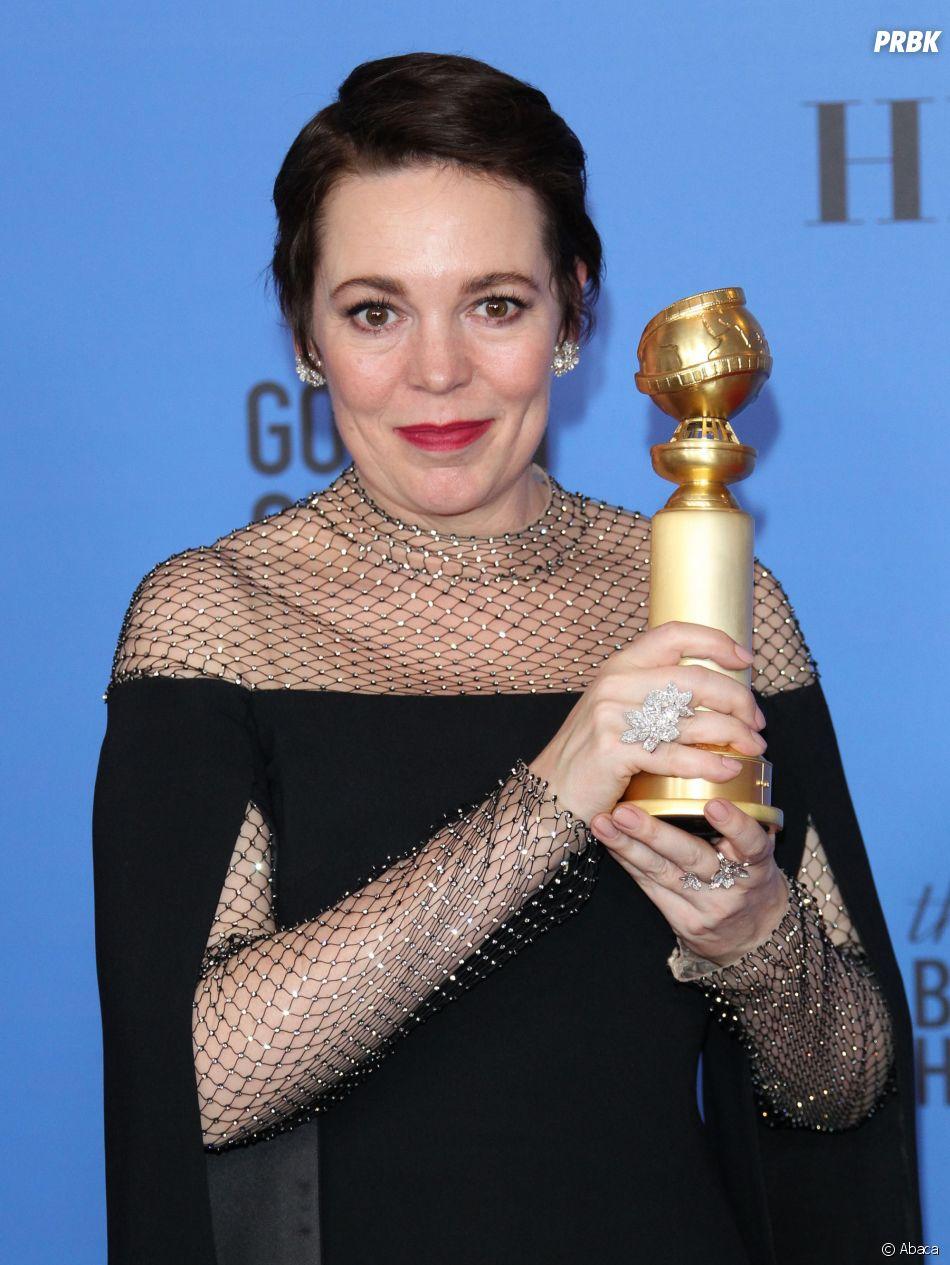 Olivia Coleman gagnante aux Golden Globes le 6 janvier 2019