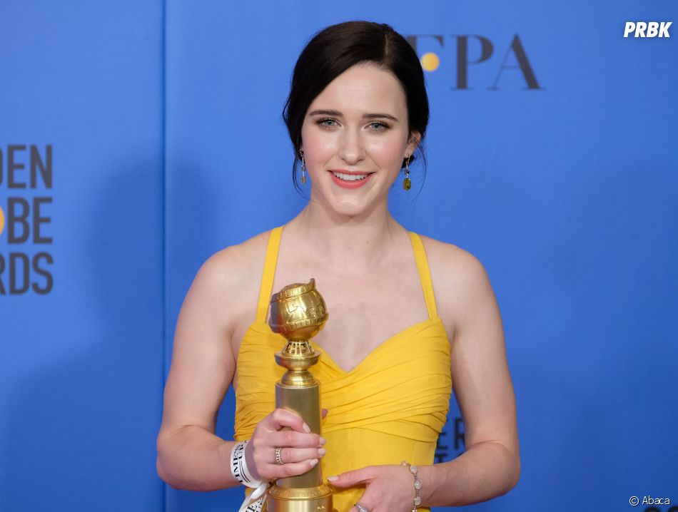 Rachel Brosnahan gagnante aux Golden Globes le 6 janvier 2019