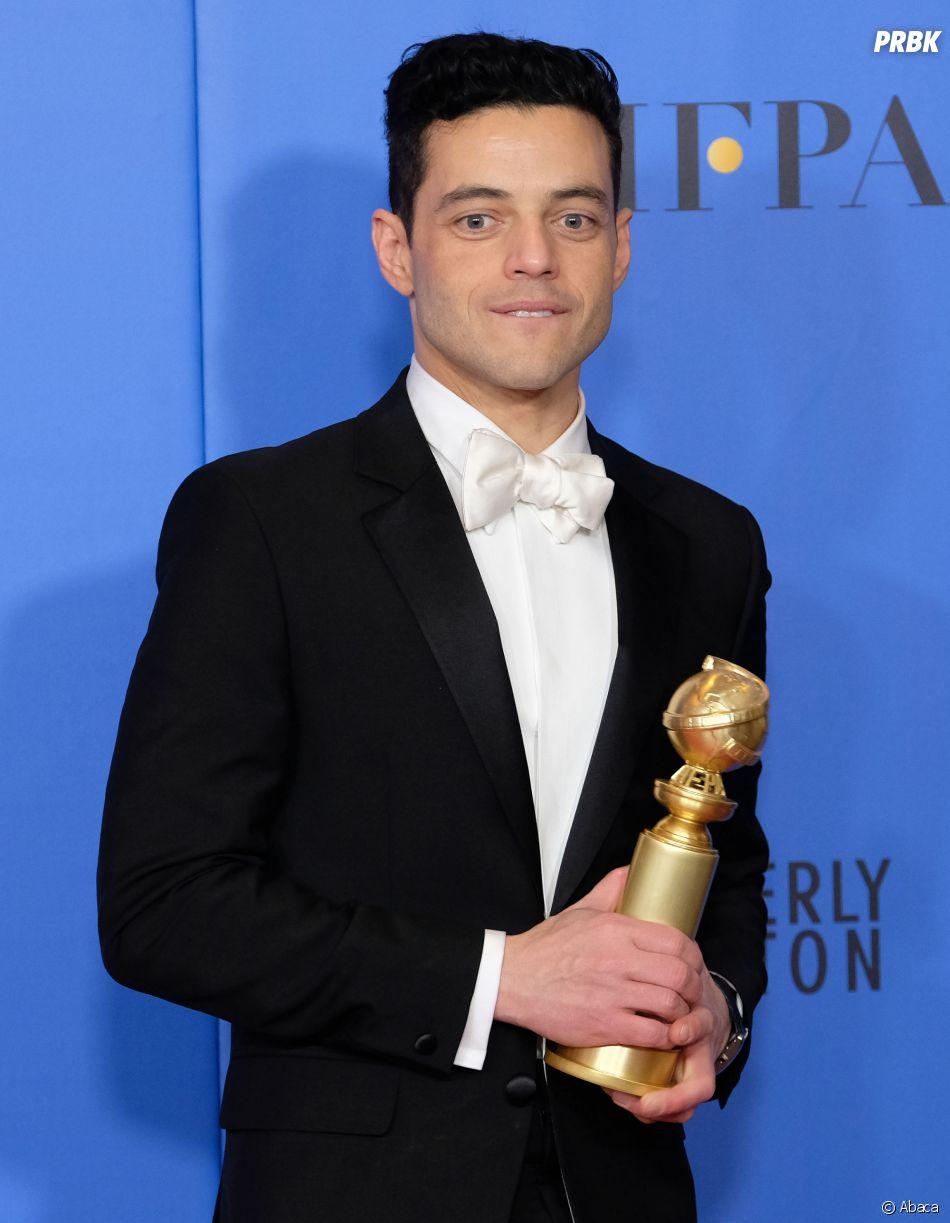 Rami Malek gagnant aux Golden Globes le 6 janvier 2019