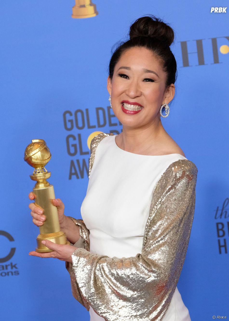 Sandra Oh gagnante aux Golden Globes le 6 janvier 2019