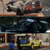 Retour vers le futur, Batman, Jurassic Park... Les voitures de la pop culture réunies en une pub
