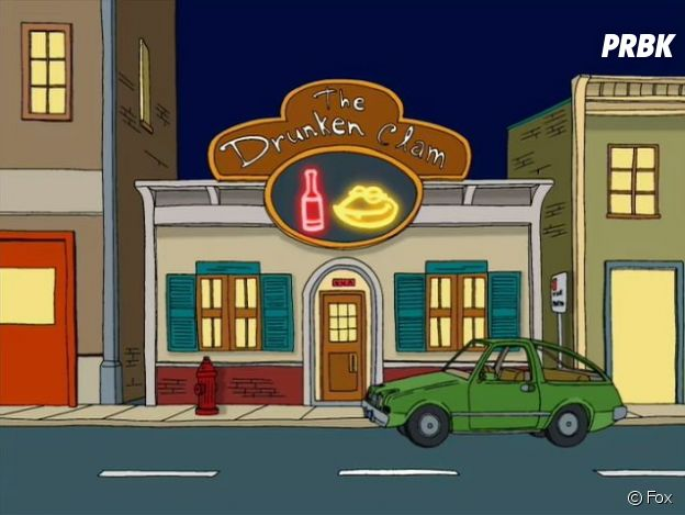 Family Guy (Les Griffin) : le bar Drunken Clam de la série a ouvert à Dallas aux Etats-Unis.