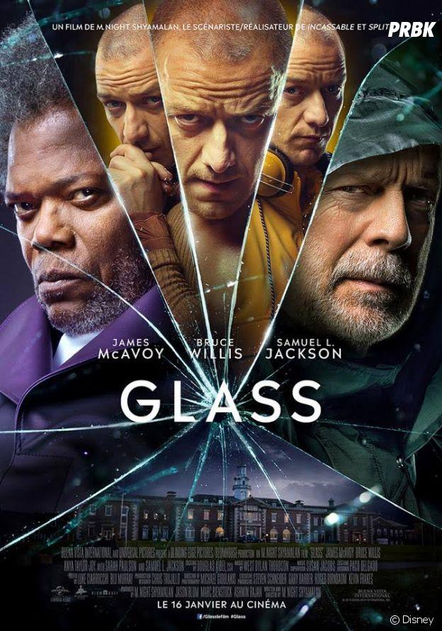 James McAvoy dans Glass.