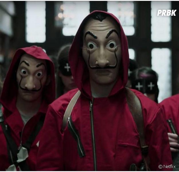 La Casa de Papel saison 3 : le célèbre masque absent de la suite ?