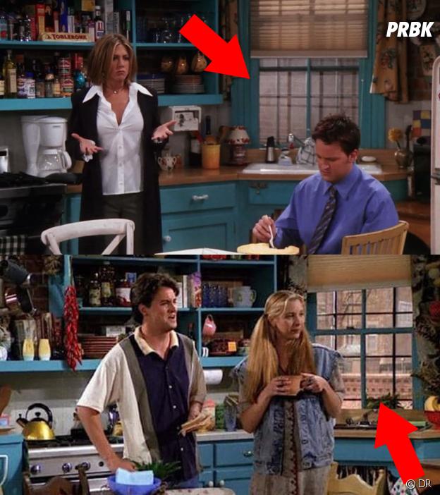 10 détails que vous n'avez (peut-être) pas remarqué dans Friends : la fenêtre magique de l'appartement de Rachel et Monica