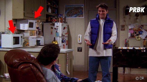 10 détails que vous n'avez (peut-être) pas remarqué dans Friends : Joey et Chandler ont deux micro-ondes